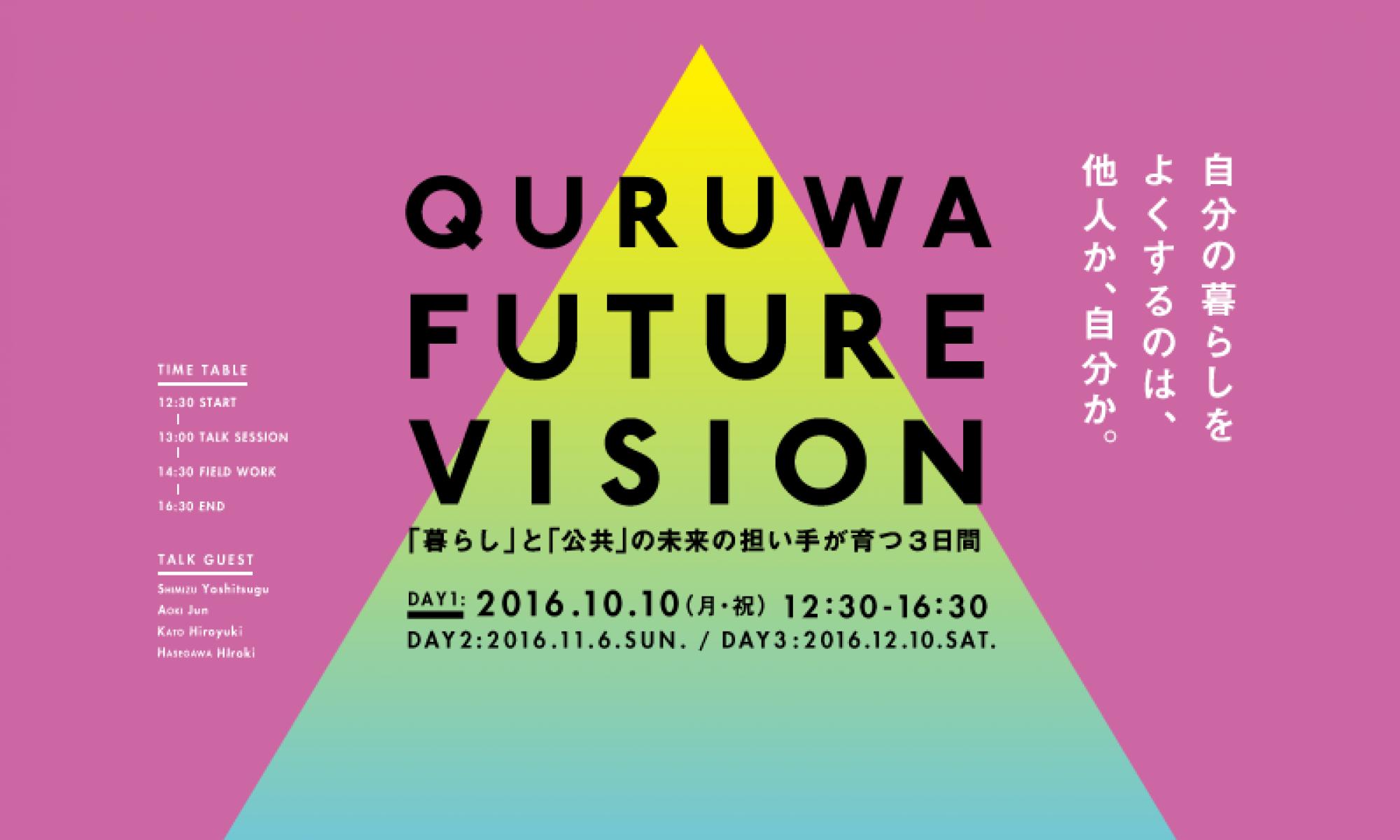 岡崎市QURUWA FUTURE VISION(市民ワークショップ)